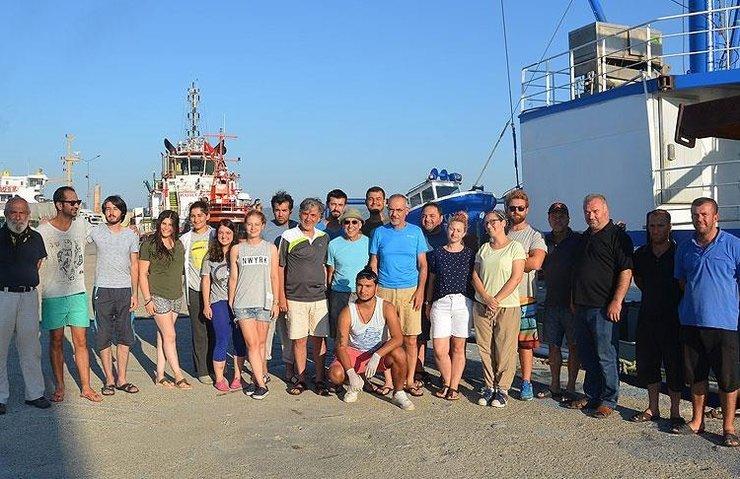Marmara Denizi'nin 'oşinografik' şartları izleniyor