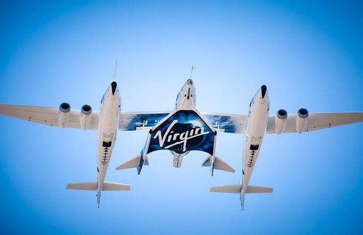 Virgin Galactic uzay turizm aracını test etti