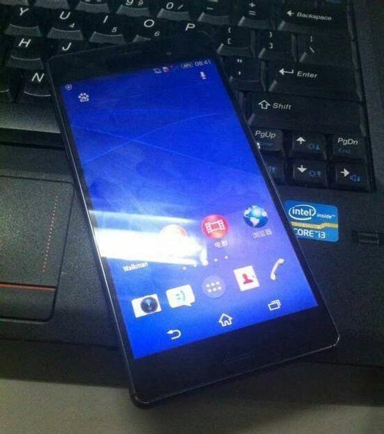 Sony Xperia Z3'ün teknik özellikleri ve fotoğrafları
