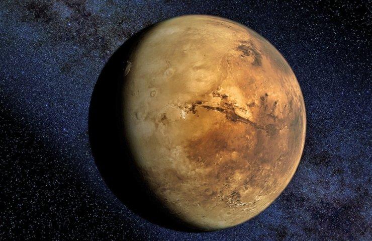 MARS YÜZEYİNDE BUZUL KÜTLELERİ KEŞFEDİLDİ