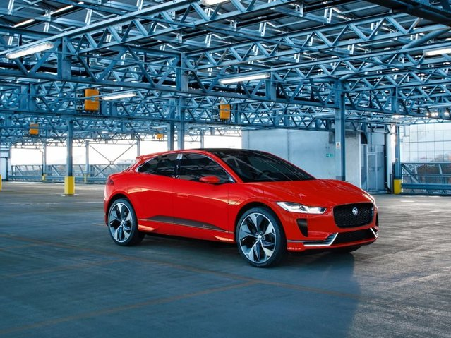 Jaguar'ın 2018 Tesla Model X'e cevabı: Jaguar  I-Pace
