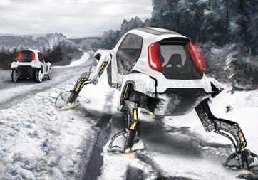 Hyundai 'yürüyen otomobil' modeli Elevate'yi CES 2019'da tanıttı!