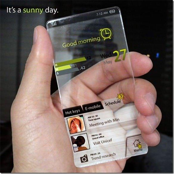 Geleceğin cep telefonu fantazisi