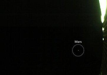 NASA'nın CubeStat uydularından ilk Mars fotoğrafı geldi