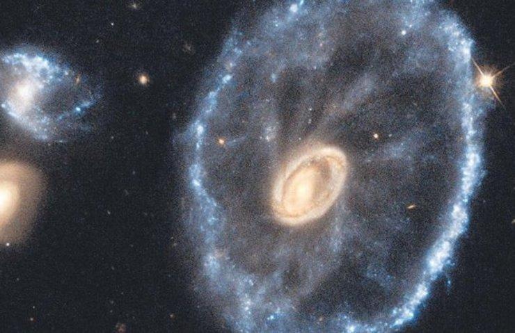 'Tekerlek Galaksi' görüntülendi