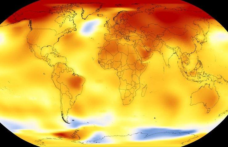 NASA: 2017, 1880'den beri en sıcak ikinci yıl