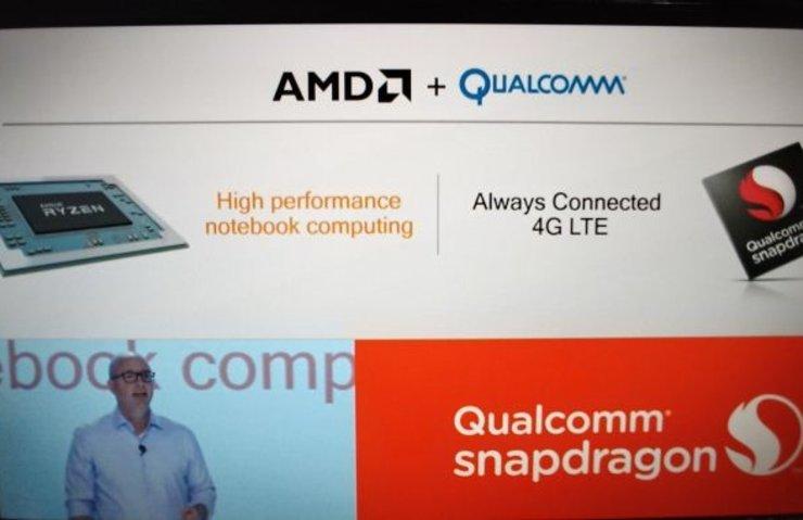 ALWAYS CONNECTED PC'LER İÇİN AMD VE QUALCOMM'DAN İŞ BİRLİĞİ