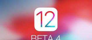 iOS 12 Beta 4 yayınlandı! İşte yeni özellikler