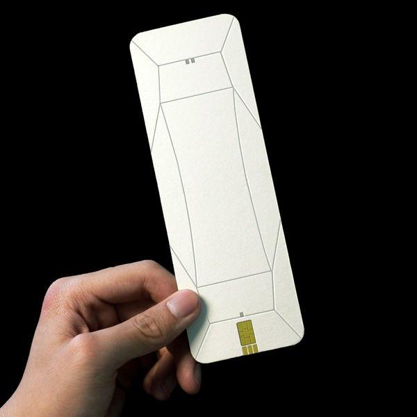 Origami telefon