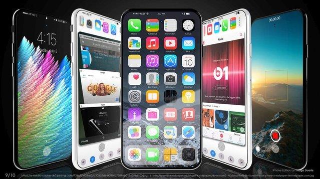 Zarif tasarımlı iPhone Edition konsepti