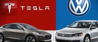 Volkswagen, resmen Tesla'ya meydan okudu