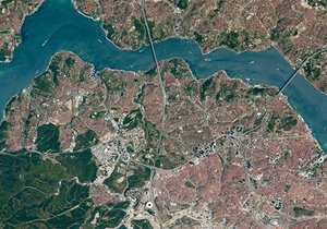 Uzaydan İstanbul'un fotoğrafını çektiler