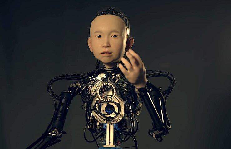 JAPONYA'DA 10 YAŞINDA ÇOCUĞA BENZEYEN ROBOT!