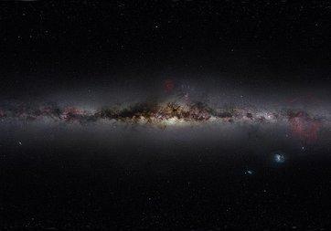 Samanyolu'nun merkezinde on bin kara delik iddiası