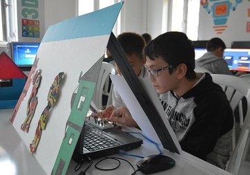 Ortaokul öğrencileri Karagöz ve Hacivat'ı kodladı