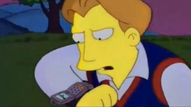 Simpsonlar'ın yıllar önce günümüz teknolojilerini kullandığını biliyor muydunuz?