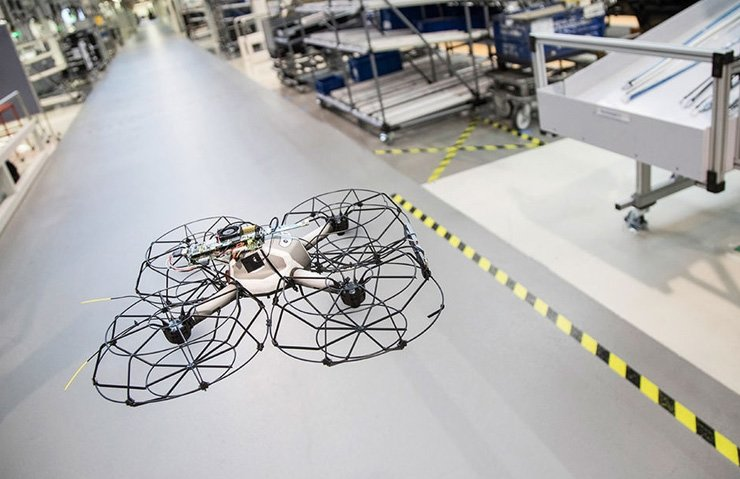 DRONELAR ARTIK OTOMOBİL ÜRETİMİNDE DE KULLANILACAK
