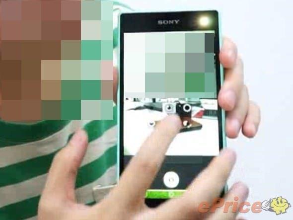 Sony'den ön tarafta flash ışıklı selfie telefonu geliyor