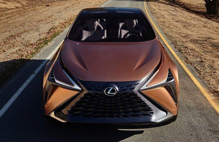 2018 Lexus F-1 Limitless Concept dikkat çekiyor
