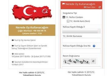 Seçmen sorgulama mobil uygulaması yayınlandı