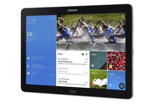 CES 2014: Samsung dev tableti TabPRO 12.2'yi tanıttı