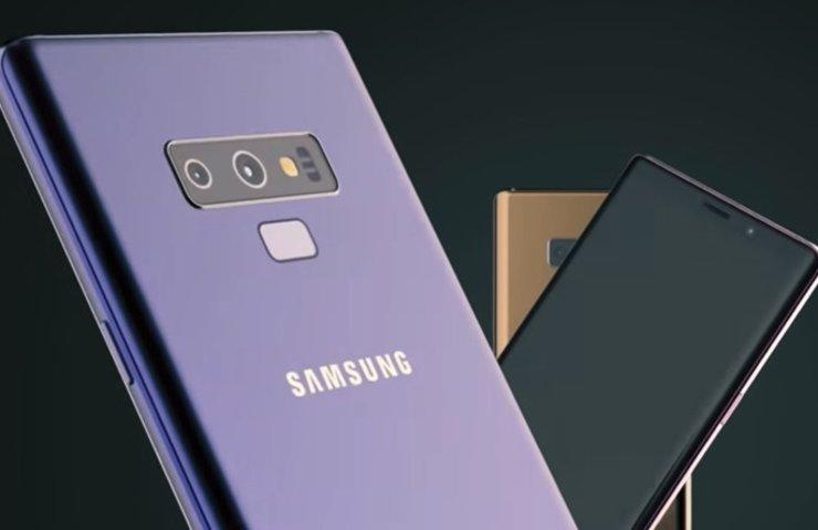 Galaxy Note 9 canlı kanlı ortaya çıktı