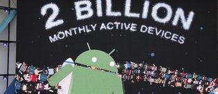 Şu anda 2 milyar aktif Android cihaz var!