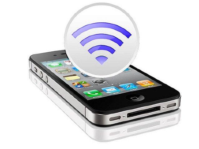 iPhone ile internetinizi paylaşın
