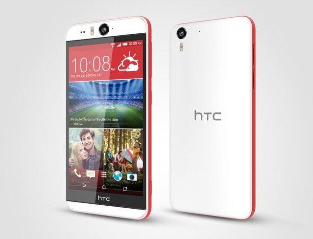 13MP'lik 2 kameralı HTC Desire Eye duyuruldu!