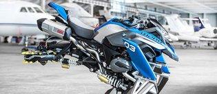 Uçan motosiklet: BMW Hover Ride