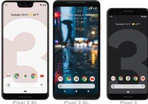 Google Pixel 3 ve 3 XL duyuruldu! İşte fiyatları ve özellikleri