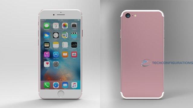 Sızıntılara göre hazırlanan iPhone 7 konsepti