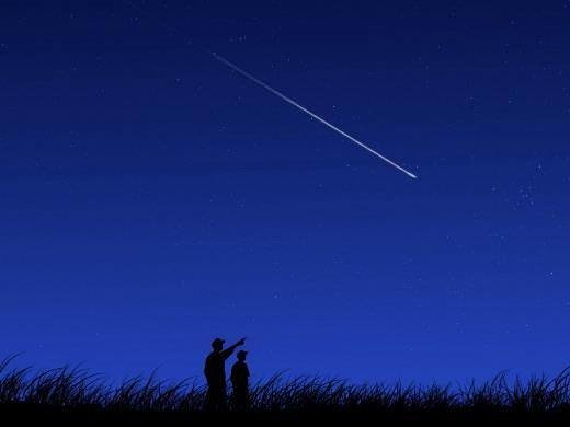 Yıldız kayması nedir? Nasıl oluşur ?