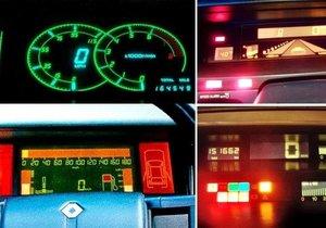 80'lere damga vuran otomobil konsolu tasarımları