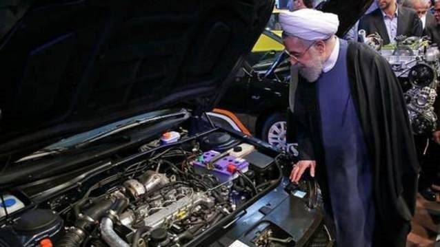 İşte İran'ın yerli otomobili