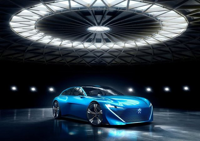 İşte karşınızda Peugeot'nun hibrit konsepti!