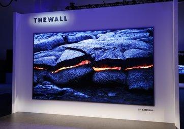 CES 2018: Samsung The Wall isimli MicroLED TV'sini tanıttı