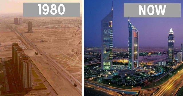 Şehirlerin çarpıcı önce-sonra fotoğrafları!