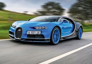 Bugatti Chiron sürüş izlenimi