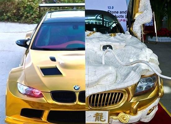 BMW M3 ve Z4'ü altına buladılar