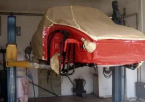 1965 model Porsche'u baştan yarattı!
