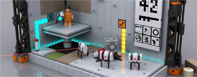 Portal LEGO'ları yakında piyasada