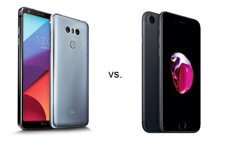 LG G6 İLE İPHONE 7 KARŞILAŞTIRMASI