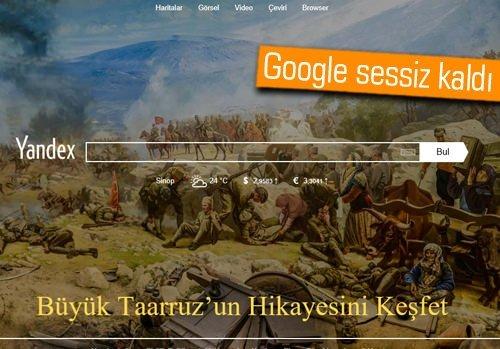 Yandex, 30 Ağustos Zafer Bayramı'nı unutmadı! Peki ya Google?