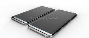 Samsung Galaxy S8 detaylı render görselleri