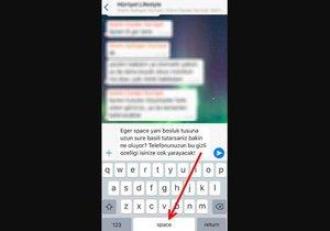 iOS klavyesindeki gizli özellik!