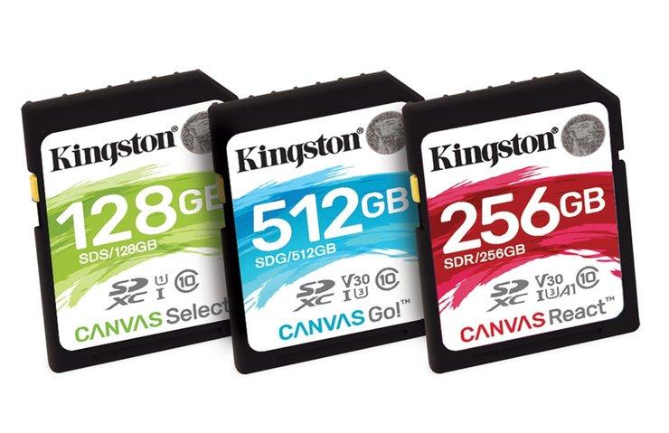 Kingston Canvas serisi yeni flash kartlarını duyurdu