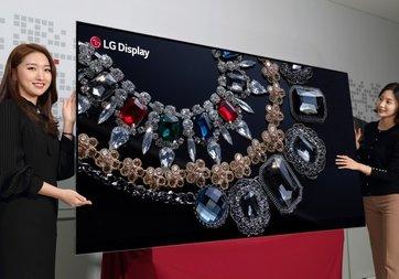 LG, dünyanın ilk 88-inç 8K OLED ekranını tanıttı