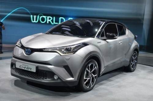 Sakarya'da üretilecek olan Toyota CH-R, Cenevre'de sergilendi