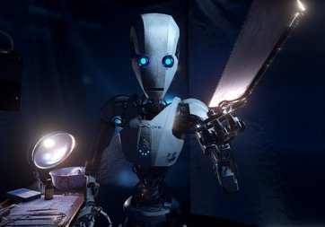 Robotlar için kendini yenileyen madde geliştirildi!